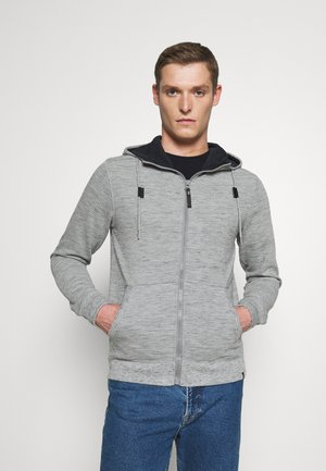 HUGO - Zip-up hoodie - light grey
