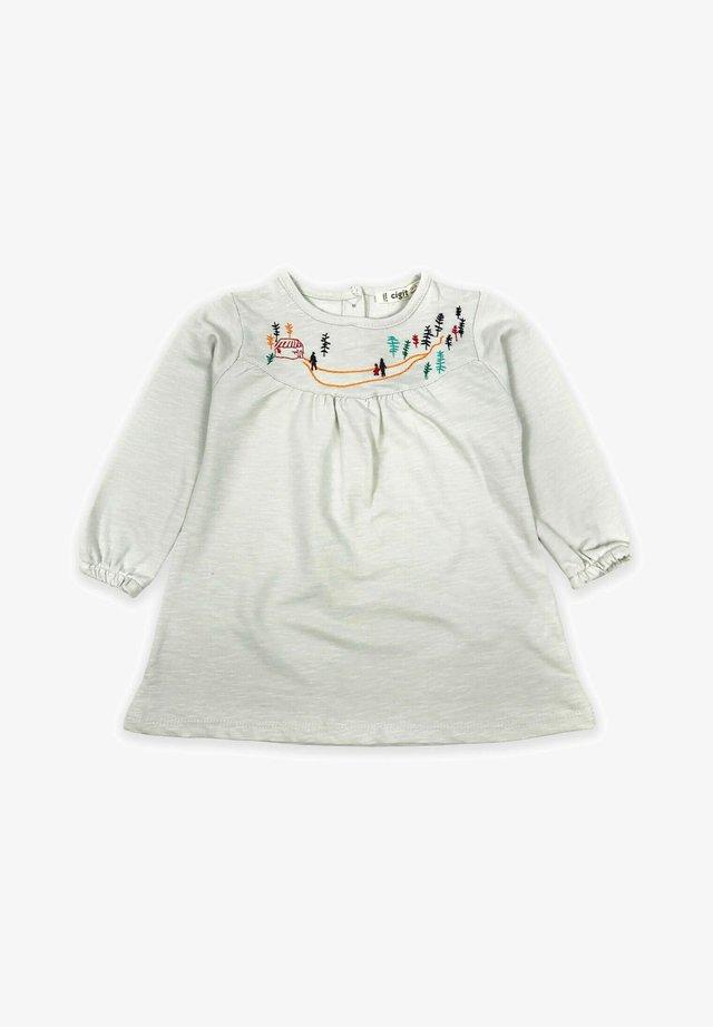 Landscape Embroideried Dress (1 to 5 years) - Vestito di maglina - rock