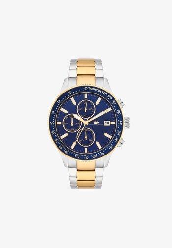 KARTHAGO II  - Chronograph watch - silber/gelbgold
