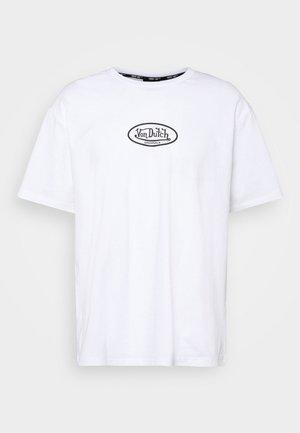 LAKE - Print T-shirt - bright white