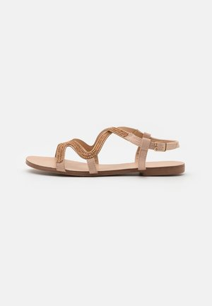 NAIMI - Sandals - rose gold