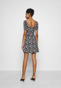 Even&Odd - Day dress - black/multi-coloured - 2