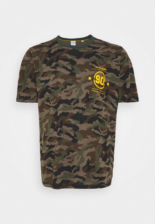 JCODOM TEE CREW NECK  - T-shirt print - darkest spruce