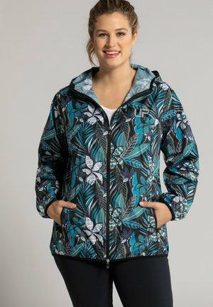 Outdoor jacket - dunkles blautürkis