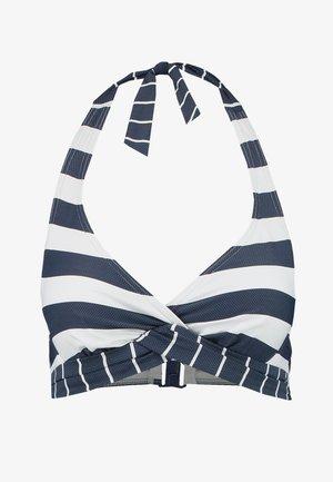 NORTH BEACH UNDERWIRE HALTERNECK - Bikini top - dark blue