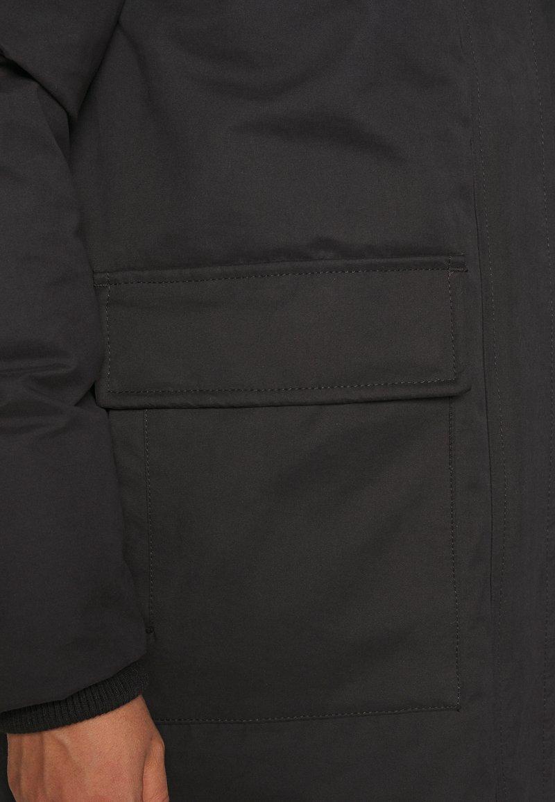 Minimum ALILLA - Wintermantel - black/schwarz oaBqO1