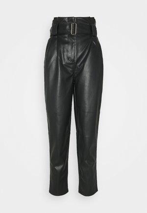 MARGIT TROUSERS - Bukse - schwarz