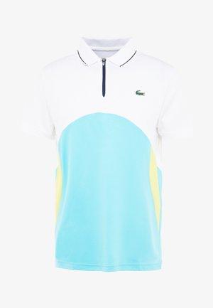 Polo shirt - white/haiti blue/lemon/navy blue