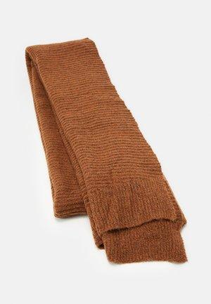 PCBENILLA LONG SCARF - Sjaal - mocha bisque