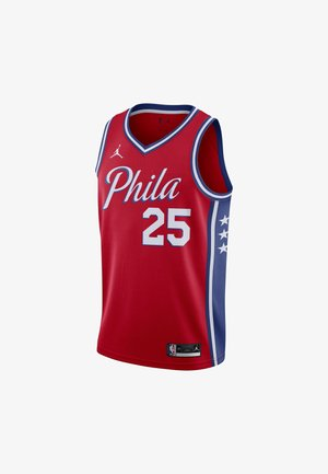 BEN SIMMONS 76ERS STATEMENT EDITION 2020 JORDAN NBA SWINGMAN  - Pelipaita - university red