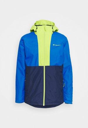 TIMBERTURNER JACKET - Snowboardjas - coll navy/bright indig/bright chartreuse