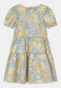 Chi Chi Girls - SHORT SLEEVE FLORAL MIDI DRESS - Koktejlové šaty/ šaty na párty - multi-coloured - 0
