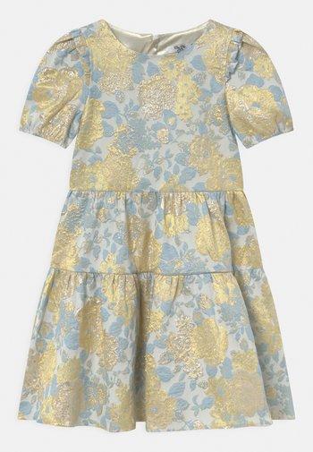 SHORT SLEEVE FLORAL MIDI DRESS - Robe de soirée - multi-coloured