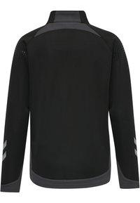 Hummel - HML LEAD  - Zip-up sweatshirt - black - 2