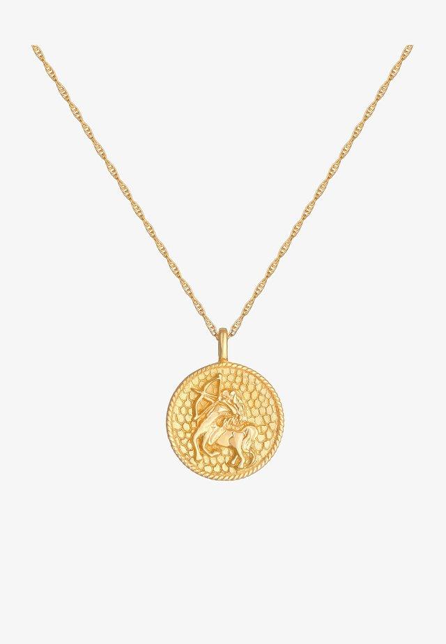 ZODIAC SIGN SAGITTARIUS  - Ketting - gold