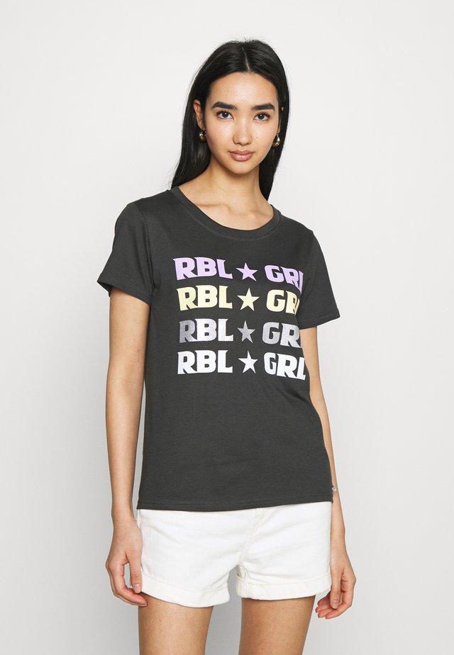 CLASSIC TEE PIRATE - T-shirt imprimé - black