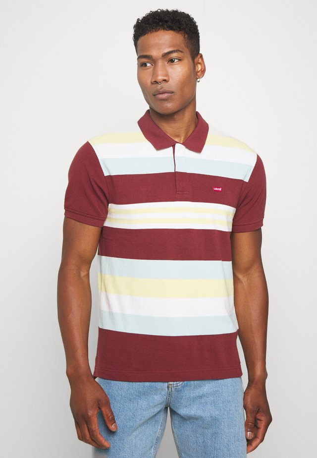ORIGINAL BATWING POLO - Polo - port