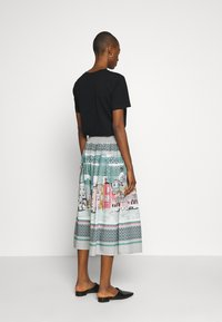 Thought - CANALETTO SKIRT - A-linjekjol - lagoon blue - 2
