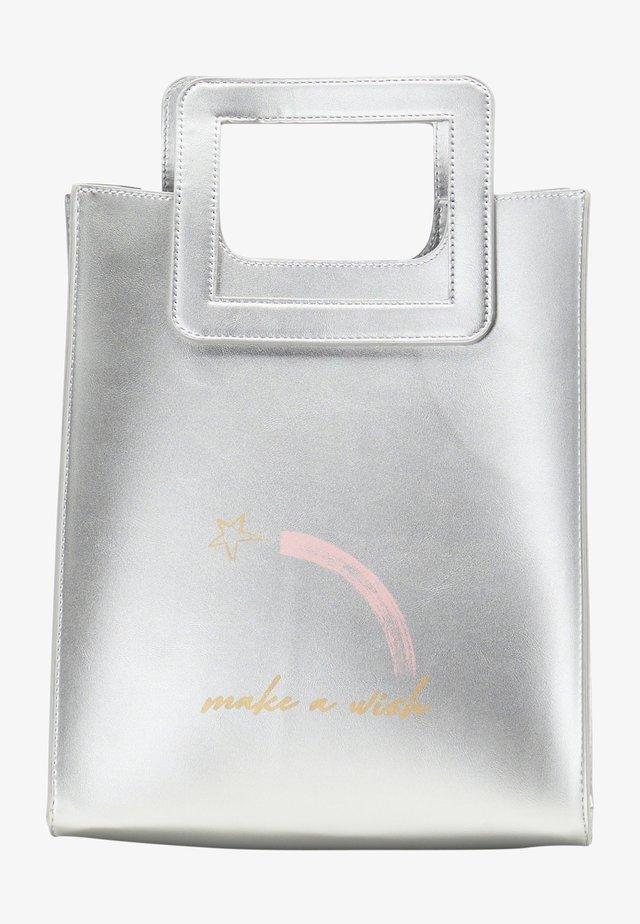 Sac à main - silber metallic
