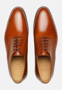 Henry Stevens - Smart lace-ups - cognac - 3