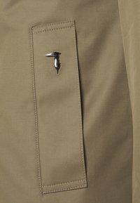 Trussardi - COAT REGULAR FIT - Classic coat - caribou - 3