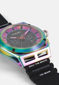 Diesel - TIMEFRAME - Chronograph watch - black - 4
