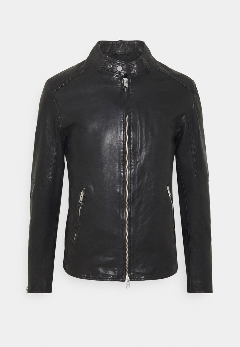 AllSaints - CORA JACKET - Veste en cuir - jet black