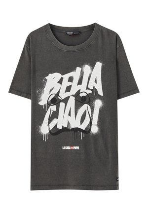 LA CASA DE PAPEL - Print T-shirt - dark grey