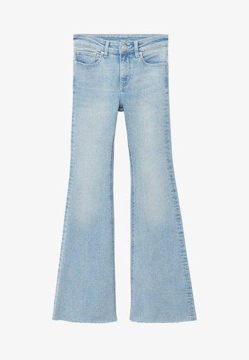 FLARET - Flared Jeans - bleu clair