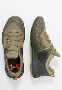 Under Armour - HOVR RISE - Obuwie treningowe - outpost green/baroque green - 1