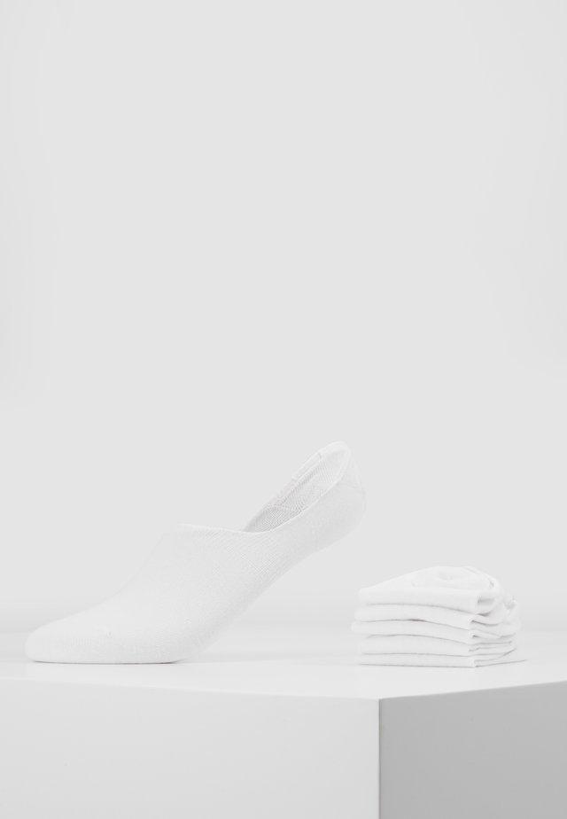 5 PACK - Sportovní ponožky - white