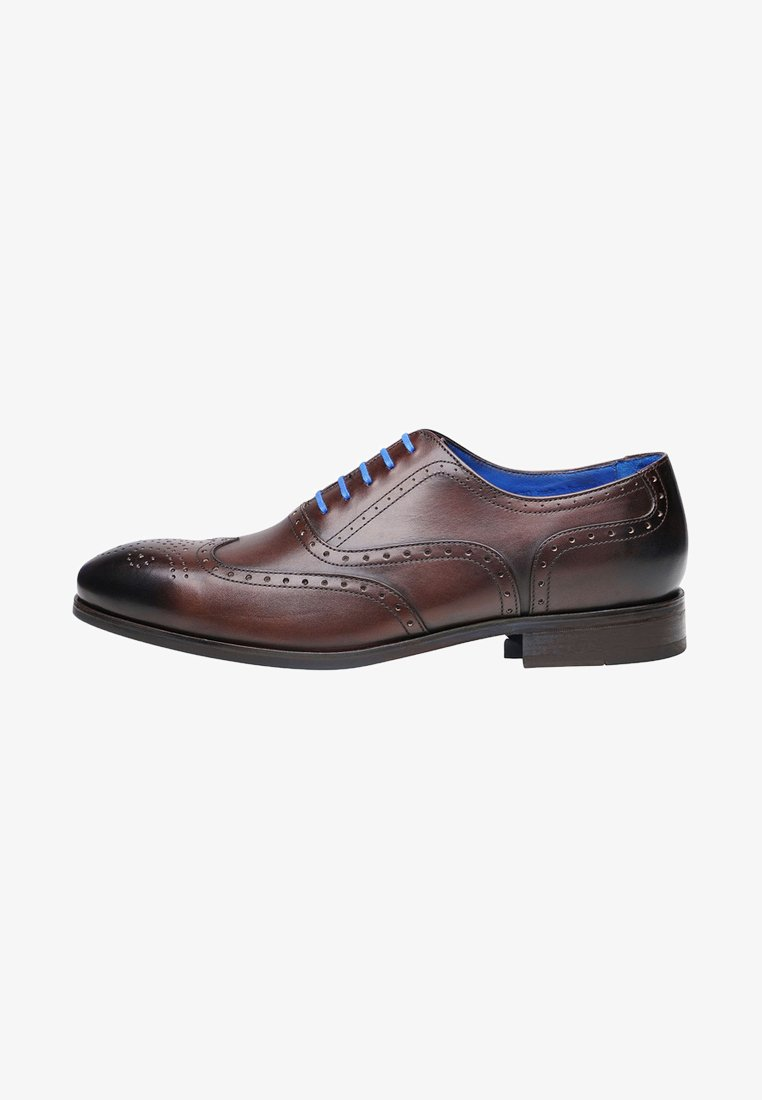 SHOEPASSION - NO. 5570 BL - Smart lace-ups - dark brown