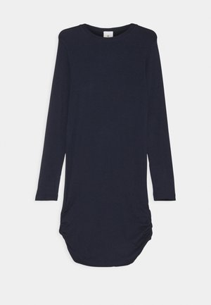 BASIC DRESS SUSTAINABLE - Žerzejové šaty - navy blazer