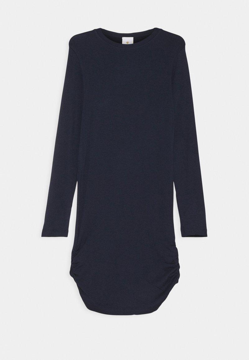 The New - BASIC DRESS SUSTAINABLE - Žerzejové šaty - navy blazer
