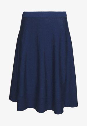 ESSENTIAL - Áčková sukně - navy peony