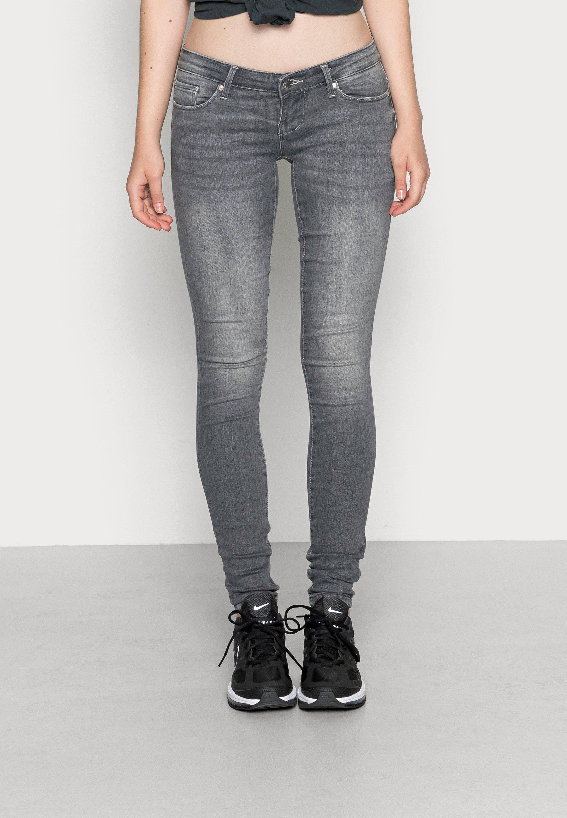 Damen ONLCORAL SUPER LOW SKINNY - Jeans Skinny Fit
