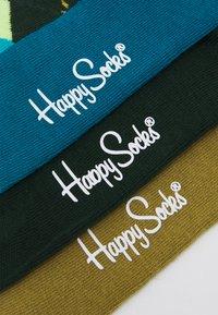 Happy Socks - CLASSICS 3 PACK UNISEX - Socks - multi greens - 1