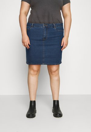 VMHOT SKIRT - Minihame - medium blue denim