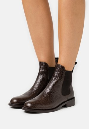 DAGOS - Classic ankle boots - marron