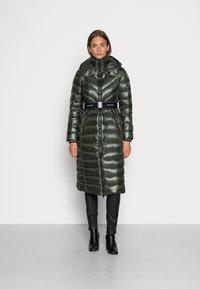 Calvin Klein - LOFTY COAT - Down coat - dark olive - 0