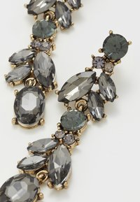 Pieces - PCJUDY EARRINGS KEY - Orecchini - gold-coloured/grey - 4