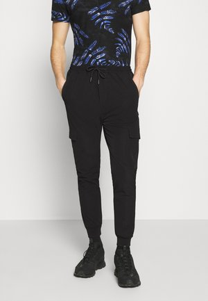 OLIVER PANTS - Cargo trousers - black