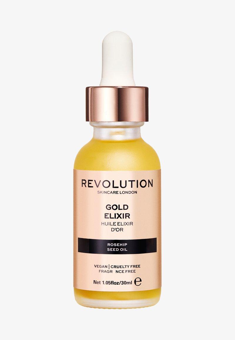 Revolution Skincare - GOLD ELIXIR - Serum - -