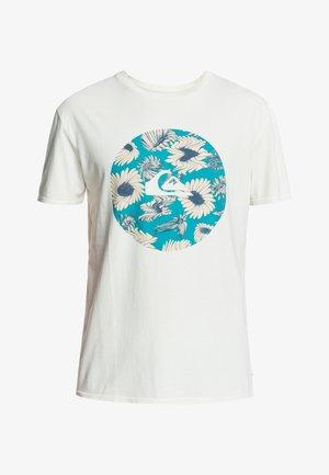 FAST TIMES  - T-shirt imprimé - snow white
