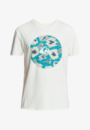 FAST TIMES  - Print T-shirt - snow white
