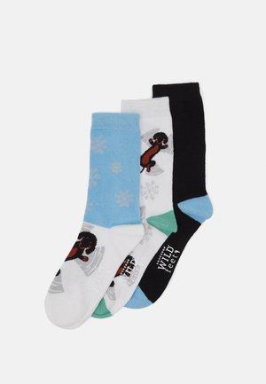 WILDFEET DACHSHUND SOCKS 3 PACK - Ponožky - multi-coloured