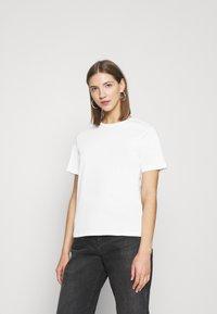 Even&Odd - 2 PACK - Basic T-shirt - white/grey - 3
