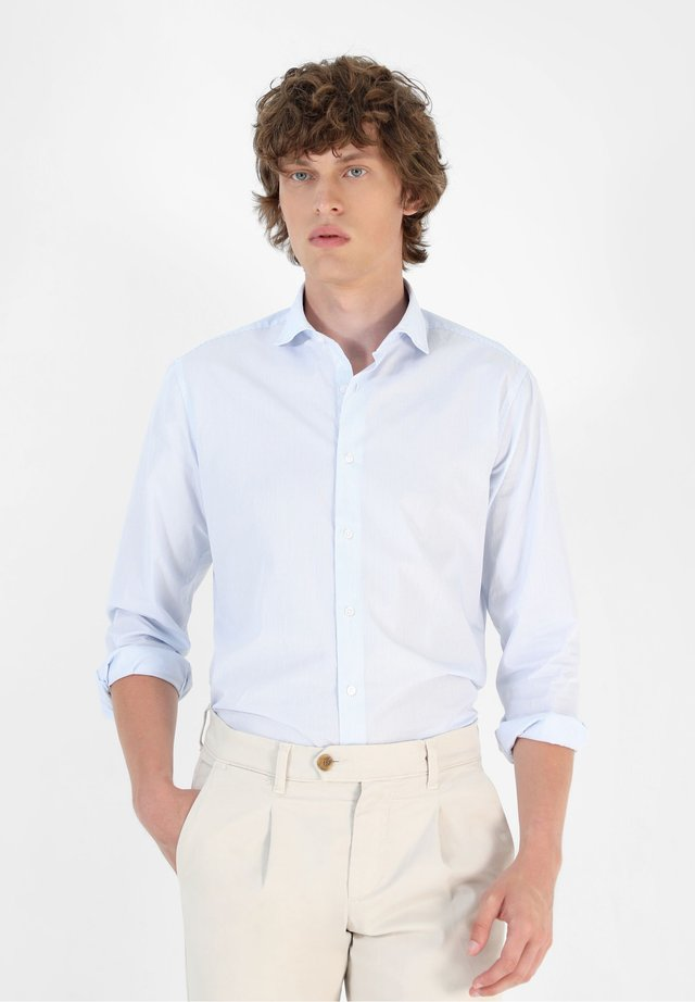 Camicia elegante - skyblue stripes