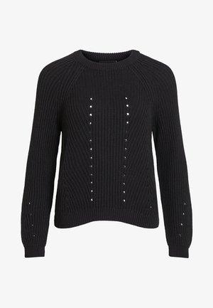 OBJMAYA - Pullover - black