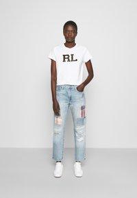 Polo Ralph Lauren - KASIA WASH - Jeans baggy - light indigo - 1